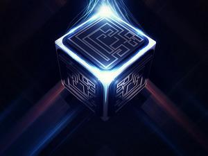 Обои Куб