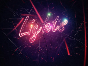 Обои Lights