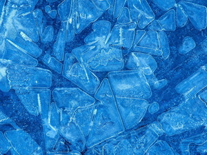 Обои Ледяная мозаика