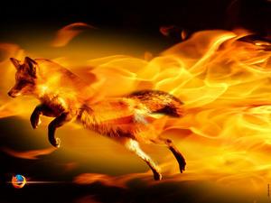 Обои FireFox