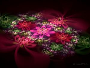 Обои Вальс цветов
