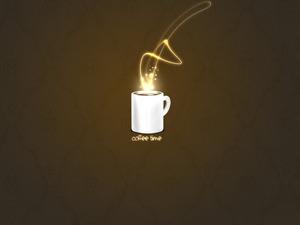Обои Утренний кофе