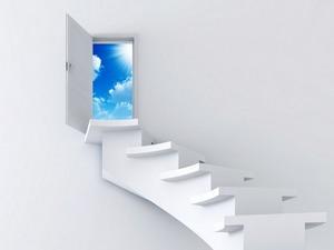 Обои Дверь в небо