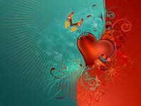 Обои для рабочего стола: Сердце
