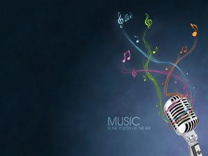 Обои Музыка