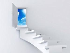 Обои Лестница в небо
