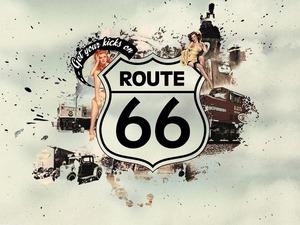 Обои Route 66