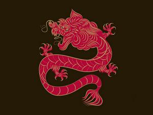 Обои Китайский дракон