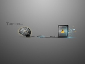 Обои Включай мозг