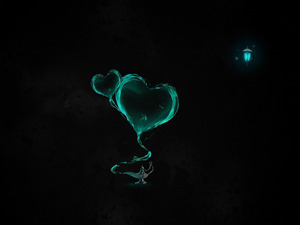 Обои Сердца
