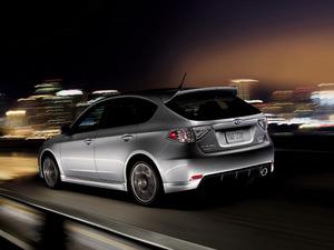 Обои 2010 Subaru Impreza WRX Limited Edition