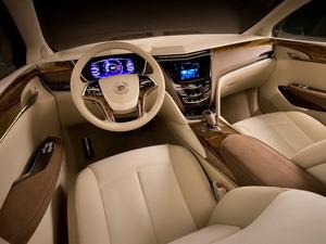 Обои Интерьер Cadillac XTS Platinum 2010