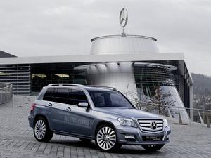 Обои Mercedes GLK
