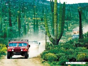 Обои Hummer H1