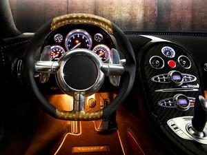 Обои Внутри Bugatti Veyron