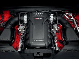 Обои Двигатель Audi V8 FSI