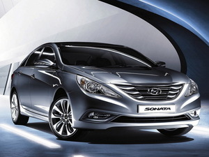 Обои Hyundai Sonata