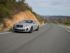 Обои Bentley Continental GT