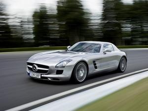 Обои Mercedes AMG SLS63