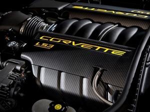 Обои Двигатель Corvette LS3
