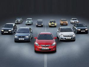 Обои История Opel