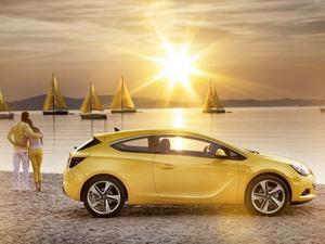 Обои Opel Astra GTC