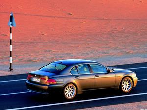 Обои BMW 745i