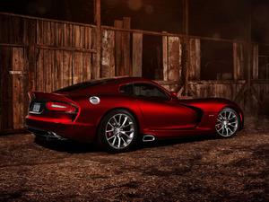 Обои Dodge Viper GTS 2013