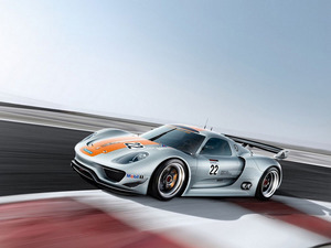 Обои Porsche 918 RSR