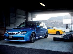 Обои Subaru Impreza WRX STI