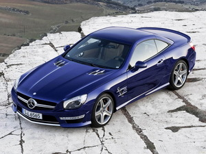Обои Mercedes SL65 AMG