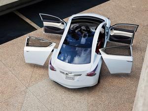 Обои Nissan Ellure Concept