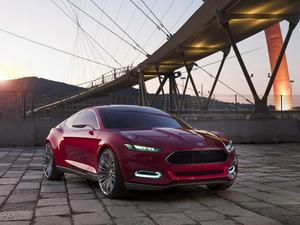 Обои Ford Evos Concept
