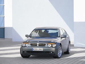 Обои BMW 745Li
