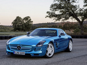 Обои Mercedes SLS Electro