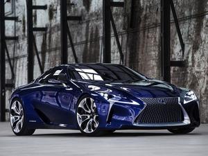 Обои Lexus LF-LC Blue Hybrid Concept 2012