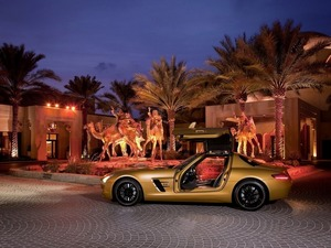 Обои Mercedes Benz SLS AMG