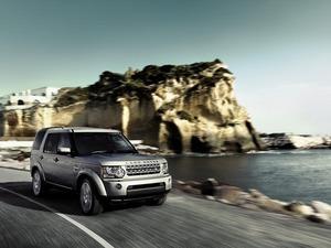 Обои Land Rover Discovery 4