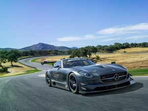 Обои Mercedes-Benz SLS AMG GT3 45th Anniversary