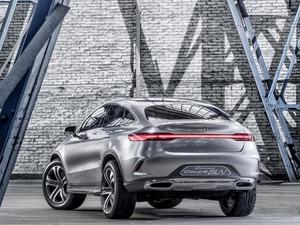Обои Mercedes Concept Coupe SUV