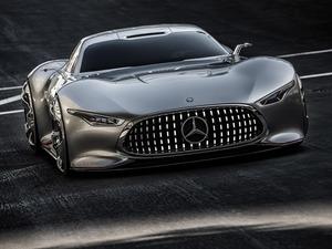 Обои Mercedes Benz AMG Gran Turismo Vision