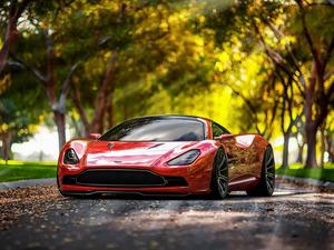 Обои Aston Martin DBC Concept