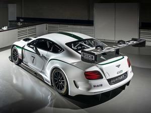 Обои Bentley Continental GT3 Race Car 2014