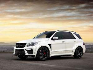 Обои Mercedes ML