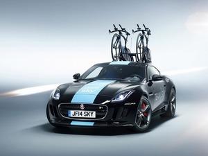 ���� Jaguar F-type Coupe (Tour de France 2014 Team Sky)