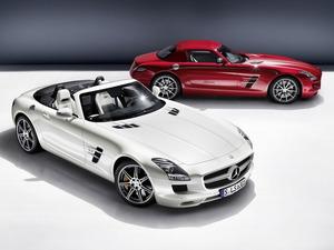 Обои Mercedes SLS63 AMG