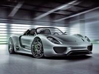 Обои для рабочего стола: Porsche 918 Spyder