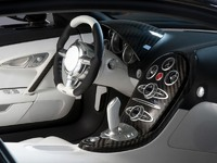 Обои для рабочего стола: Интерьер Bugatti EB 18/4 Veyron