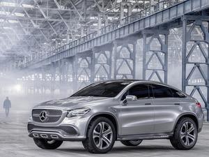 Обои Mercedes GLE Coupe / MLC