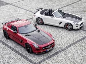 Обои Mercedes SLS